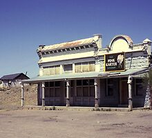 Old Saloon, Lamy, New Mexico, USA. by Peter Stephenson