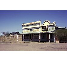 Old Saloon, Lamy, New Mexico, USA. Photographic Print
