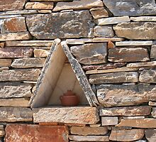 Greek Walls by Log Cabin  Photography