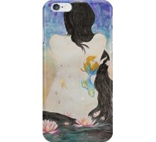 Lotus Woman iPhone Case/Skin