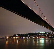 Bosphorus by Night. ( Istanbul - Turkey) by MissSunshine