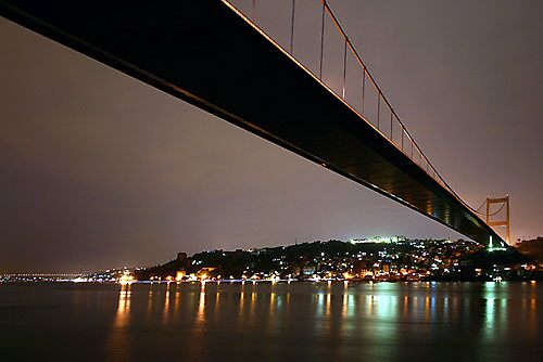 Bosphorus by Night. ( Istanbul - Turkey) by MissSunshine