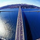 Bosphorus Sky view ( Istanbul - Turkey) by MissSunshine