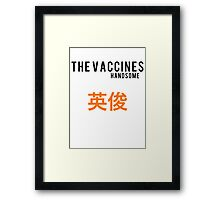 The Vaccines//Handsome Framed Print