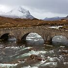 The Old Sligachan Bridge by tinnieopener