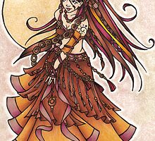 Autumn Belly Dancer by lacychenault
