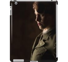 Tanya Wheelock as Peggy Carter (Photography by Sean William / Dragon Ink Photography) iPad Case/Skin