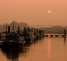 Medway Sunset by Paul Davey