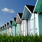 Beach Huts by Zoe Harmer
