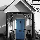 Blue Door by Zoe Harmer