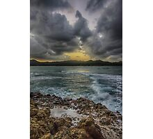 Storms in Puerto Plata Photographic Print