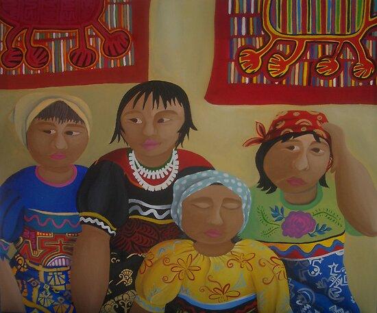 ECUADORIAN   MYSTERY by ART PRINTS ONLINE         by artist SARA  CATENA