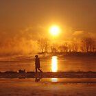 Sunrising II (lakeshore) by sendao