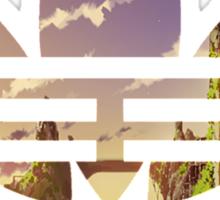 Adidas Pixel Landscape Sticker