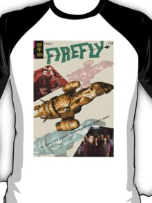 Firefly Vintage Comics Cover (Serenity) T-Shirt