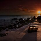 Sand Tracks at Sunrise by Andrew Dickman