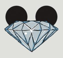 Diamond Disney Ears Color by Infernoman