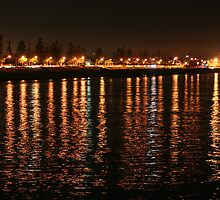Shore Lights Largs Bay by Jenny Brice