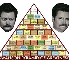 Swanson Pyramid of Greatness by jesseskerritt