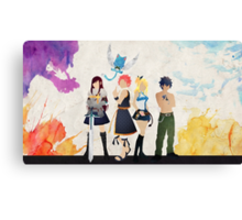 The Protagonists - Fairy Tail  Canvas Print