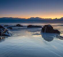 Cabarita Beach, NSW, Sunrise Reflections by Ann Pinnock