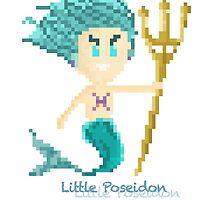 Pisces Male Chibi Pixel Art  by wxarts