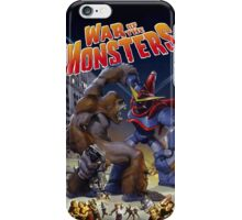 War of the Monsters Cover Art iPhone Case/Skin