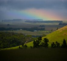 piece of a rainbow in Waimea by Lawrence Taguma