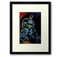 'Batman', Gotham's finest. Framed Print