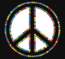 Circled Peace Sign Symbol 2 by popculture