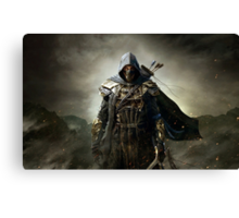 The Elder Scrolls V - Skyrim Assassin 2.0 Canvas Print