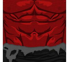 Red Hulk Case by LumpyHippo