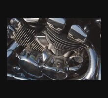 Motorcycle engine by onfilm