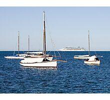 Sorrento Sailing Couta Boat Club Photographic Print