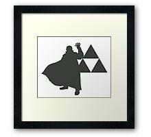 Smash Bros - Ganondorf Framed Print