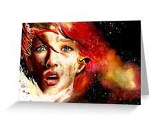 Leello the fifth element Greeting Card