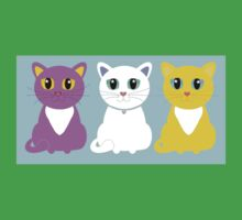 Only Three Cats Kids Clothes