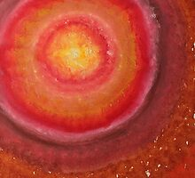 Wormhole original painting by CrowRisingMedia