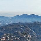 Panoramic view from Montserrat  by Steve
