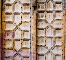 old entrance door by vaheed pall