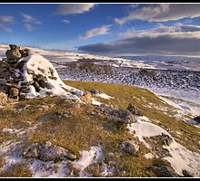 Conistone Cairn by Shaun Whiteman