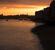 Shadwell Sunset by Paul Davey