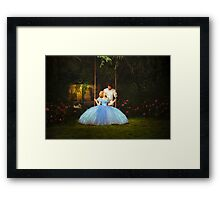 Cinderella & Prince Charming Framed Print