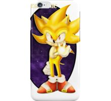 Super Sonic iPhone Case/Skin