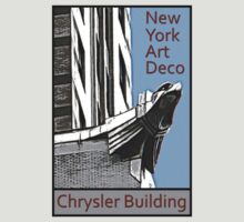 New York Art Deco - Chrysler Building Eagle by David Thompson