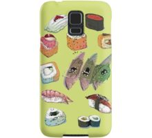 Sushi set Samsung Galaxy Case/Skin