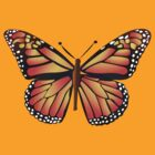Madame Butterfly:T-Shirt by Orla Cahill