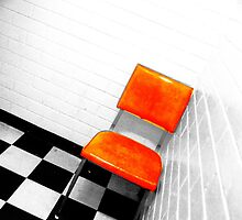 The orange chair by oddoutlet