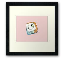 Philadelphia roll Framed Print