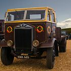 Albion Truck by David J Knight